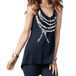 CAbi | Ahoy High Low Tank Tunic Style #836